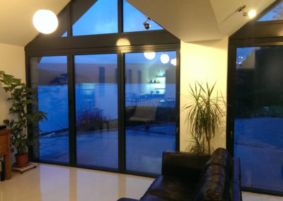Interior design at the Langsett extension