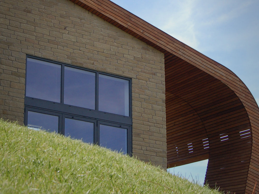 Low energy home contemporary design self build in south for Low energy home designs