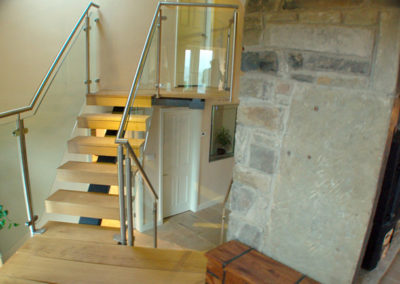Bespoke staircase design and fabrication