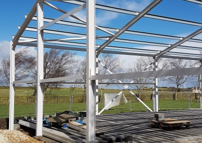 New School Hall Building near Huddersfield is Rising
